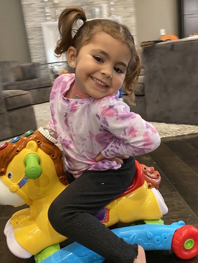 """<p><strong>Elena, Age 3</strong></p> <p>""""Dr. Karanetz was extremely kind and soft spoken, which gave my daughter a sense of comfort during what could have been a very traumatic experience. Dr. Karanetz was focused and calm and spoke/explained what she was doing to my daughter throughout the whole procedure.""""</p>"""