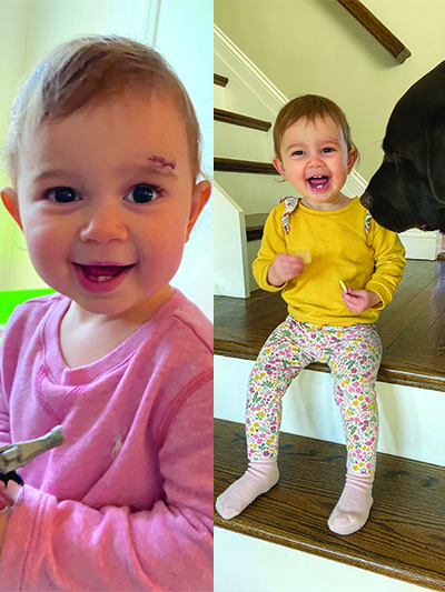 """<p><strong>Lea, Age 1</strong></p> <p>""""They were so sweet and patient when taking care of my one-year-old. I cannot thank them enough for being so quick, easy, and efficient.""""</p>"""